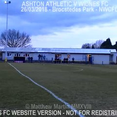 Ashton Athletic Vs Widnes FC (27.03.18) LCC QF