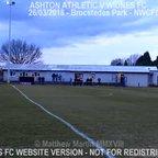 Ashton Athletic Vs Widnes FC (27.03.18) LCC QF