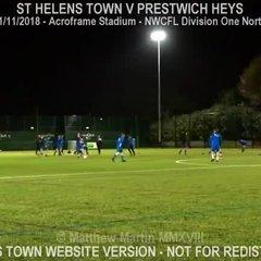 St Helens Town Vs Prestwich Heys (01.11.18)
