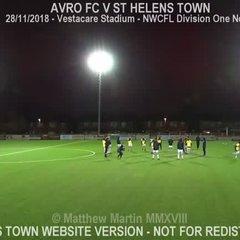 Avro FC Vs St Helens Town (28.11.18)