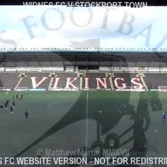 Widnes FC Vs Stockport Town (04.02.17)