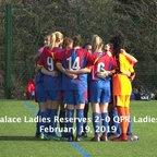 Reserves Highlights: Palace 2-0 QPR