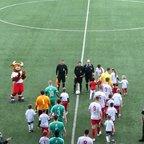 Fleet Spurs @ Jersey Bulls Respect Handshake