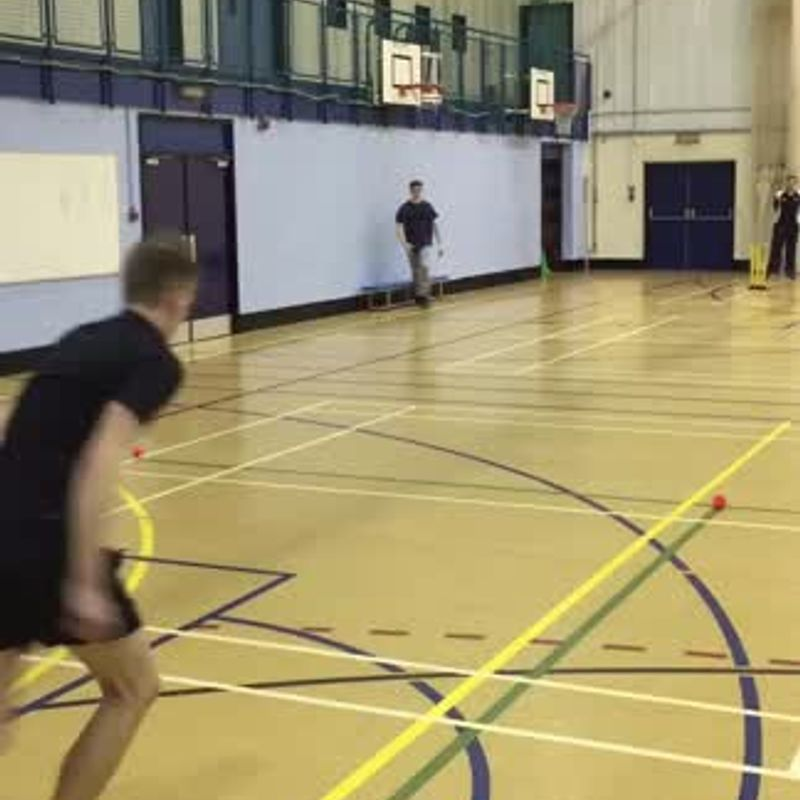 2017 Pre Season Training - Tom & Casey 'Rush the Stumps'