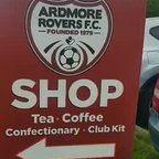 The Ardmore Rovers Club Shop Now Open