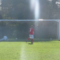 Penalty shoot vs Immingham Town Development