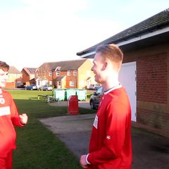 After game vs Market Rasen