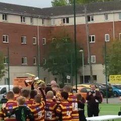 LG12s lifting Lancashire Cup