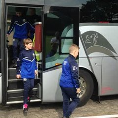 Blues Arrive in Holland