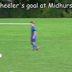 Corey Wheelers goal at Midhurst 9-9-17