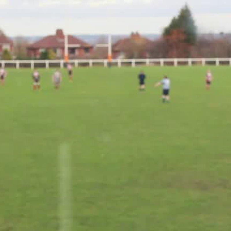Leeds Corinthians RUFC vs HAlifax RUFC. 1st half.