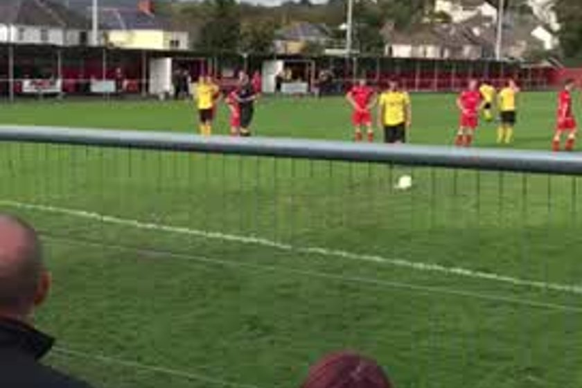 What a moment. Billy Evans makes it 1-1
