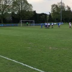 Liam Cartledge penalty vrs Heanor Town