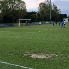 Aiden Butler penalty vrs Heanor Town