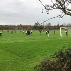Dan Watkin's free kick against Marston Saints