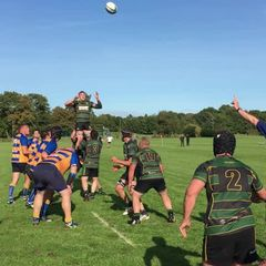 Try from Lineout v Romsey