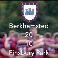 Berhamsted 1s vs Finsbury Park 2s