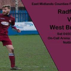 Radford 2-2 West Bridgford