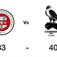 Chinnor vs Birmingham Moseley
