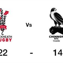 Chinnor vs Blackheath