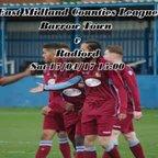 Barrow Town 0-2 Radford 15/04/17