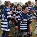 Post Match Tunnel - U15As vs Haslemere 14 Jan 2018
