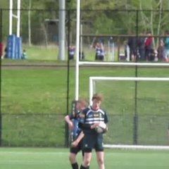 U15 boys at Dalziel Tournament