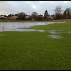 Flooded pitch November 2017