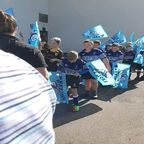 Wands P5 on route to guard of Honour
