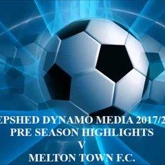 Melton Town F.C. Pre Season 2017/2018
