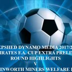 Rainworth Miners Welfare F.C. Away F.A. Cup Extra Preliminary Round 2017/2018