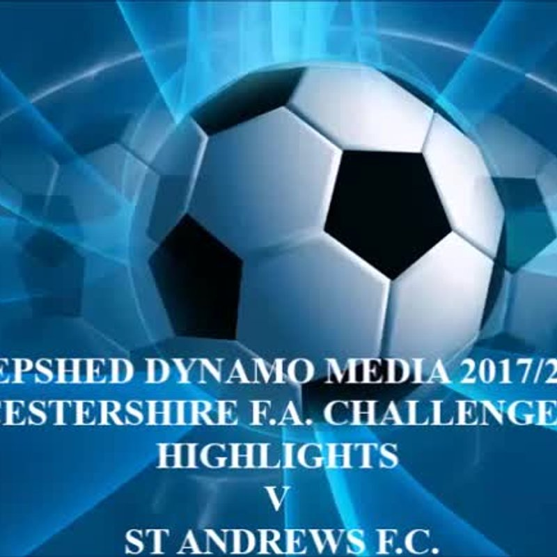 St Andrews Leicestershire F.A. Challenge Cup 2017/2018