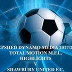 Shawbury United Total Motion M.F.L. 2017/2018