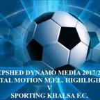 Sporting Khalsa Total Motion M.F.L. 2017/2018
