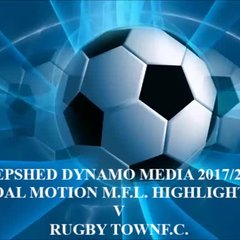 Rugby Town F.C. Total Motion M.F.L. 2017/2018