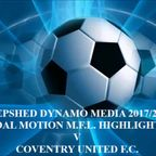 Coventry United F.C. Total Motion M.F.L. 2017/2018