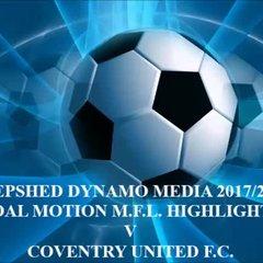 Coventry United F.C. Total Motion M.F.L. 2017/2018