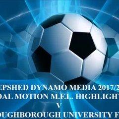 Loughborough University F.C. Total Motion M.F.L. 2017/2018
