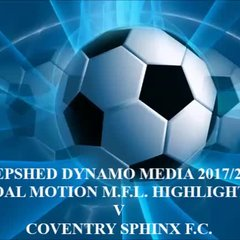 Coventry Sphinx F.C. Total Motion M.F.L. 2017/2018