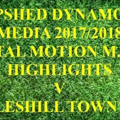 Coleshill Town F.C. Total Motion M.F.L. 2017/2018