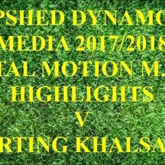 Sporting Khalsa F.C. Total Motion M.F.L. 2017/2018