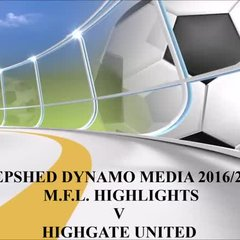 Highgate United M.F.L. Video Highlights