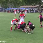 Okapi Wanderers Rugby FC Mens great try Surfin 7's 06 08 2019