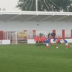 Free kick away at Chatham Town