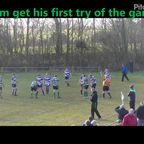 Cameron scores a try