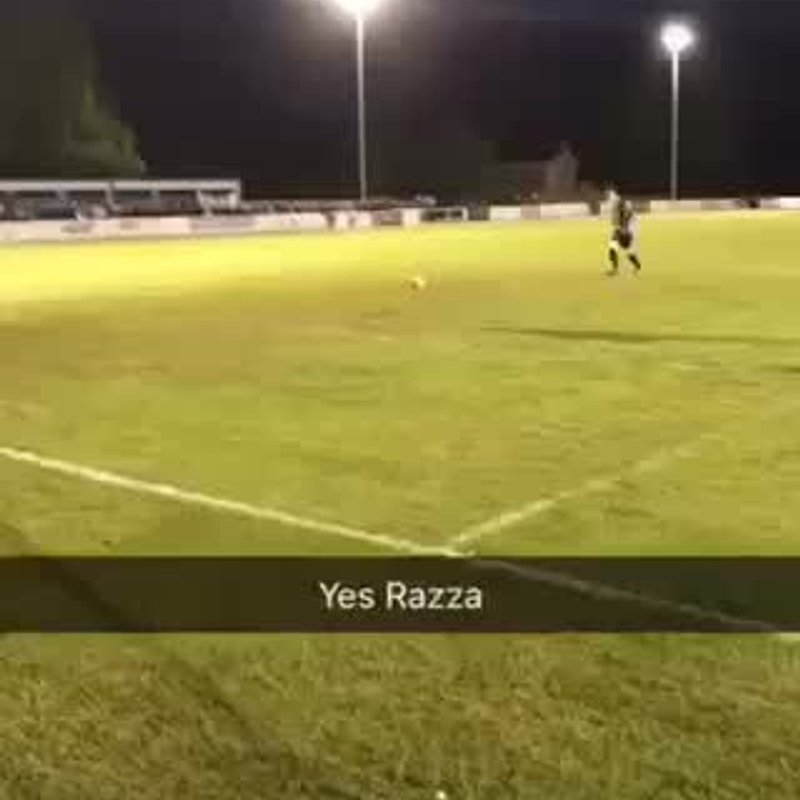 Ryan Thompson's penalty in the final.