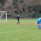 Ash Baldwin Penalty vs Feeder FC 19/01/19