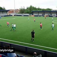 Goal From Hyde v Stalybridge - 15th July 2017
