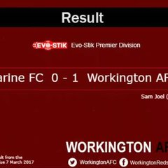 Marine v. Reds Tue 7 March 2017