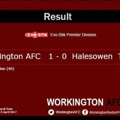 Reds v. Halesowen Town - Sat 15 Apr 2017